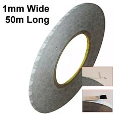 1mm Wide High Temperature Resistant Double Sided Black Tape