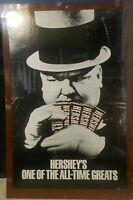 Vintshe WC Fields Hersheys One Of The All-Time Greats Poster