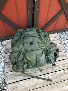 ALICE LC-1 Vintage Military Backpack Field Pack Combat Nylon Large Metal Frame