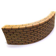 "Ceramic Aquarium Decoration Shelter Barrier ""Brick Wall"" SAGA - Large"