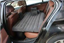 12V Pump +Inflatable Mattress Car Back Seat Cover Air Mattress car sex bed Grey