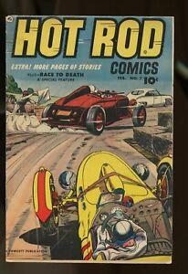 HOTT ROD COMICS #7 VERY GOOD / FINE 5.0 1953 FAWCETT COMICS