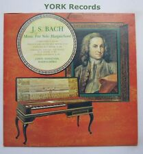 TV-S 34369 - BACH - Music For Solo Harpsichord JANOS SEBESTYEN - Ex LP Record
