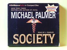 The Society by Michael Palmer (2006, CD, Abridged)