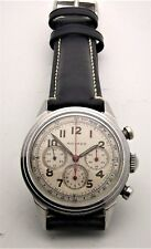 Vintage Stainless Movado Waterproof 3 Register Chronograph 95M 35mm