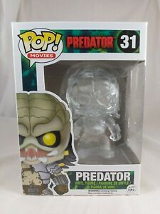 Movies Funko Pop - Predator (Clear) - No. 31