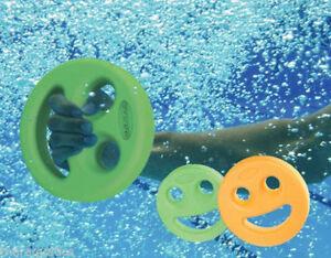 Water Aerobics Smiley Face NORDESCO AQUADISK Dumbbell Ergonomic Shoulder Relief