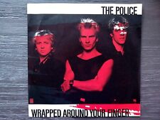 """THE ORIGINAL 1983 THE POLICE """"WRAPPED AROUND YOUR FINGER"""" - 7"""" 45 RPM SINGLE"""