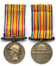 Médaille Ministère de l'intérieur. Hommage au Devoument. Argent. Vers 1935