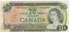 Canadian 1969 $20 bill