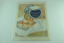 Snowdrift Biscuits Wesson Oil Full Page Print Ad 399
