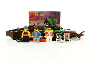 Lego Pirates I Set 6258 Smuggler's Shanty 100% complete + instructions rare 1992