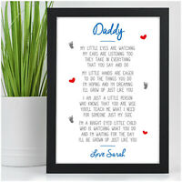 Birthday Gifts for DADDY DAD GRANDAD HIM Personalised Gifts from Son Daughter