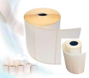 Blank White Address Printer Adhesive Sticky Labels 100x50mm
