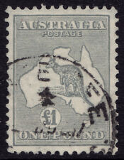 Australia used one pound roo with C of A wmk