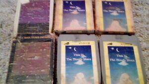 Vintage Rare 8 Track Cassette Cartridges Moody Blues Carpenters 1973/1974 Decca