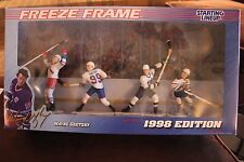 1998 Limited Freeze Frame WAYNE GRETZKY Starting Lineup set - New in Box