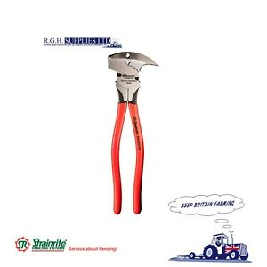 Strainrite Fencing Pliers for Hammering, Crimping, Cutting wire or Staples.