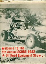 1982 OFFROAD RACING Newspaper - Special 1982 Equipment Show Giveaway