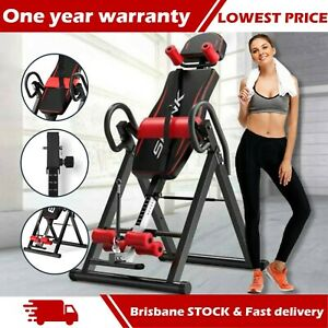 Gravity Inversion Table Foldable Back Stretcher Inverter Home Gym