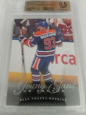 Ryan Nugent-Hopkins 2011-12 Upper Deck Young Guns Canvas BGS 9.5 Gem Mint Oilers