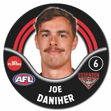 2018 AFL Essendon Player Badge - DANIHER - Joe