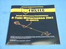 Istruzioni di Utilizzo da Fuxtec FX-4MS315 4-takt Motorsense 31,5cc