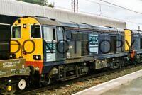 UK DIESEL TRAIN RAILWAY PHOTOGRAPH OF CLASS 20 20314 LOCO. (RM20-458)