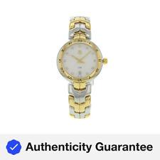 Tag Heuer Link Dial de plata acero 18K Oro Cuarzo Reloj de Señoras WAT1350.BB0957