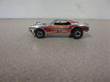 Hot Wheels Redline Heavy Chevy Chrome #6 W/ Red & Orange 1969 HK Base Rare HTF