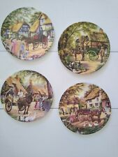 Limited Edition Royal Doulton Country Deliveries Cummins 4 Plates