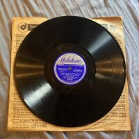 """Jack Shilkret There's A Small Hotel 10"""" 78RPM Melotone Vinyl"""