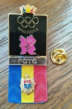 London 2012 Olympic Games Moldova photographer team delegation pin - SALE!!!