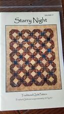~Starry Night~ Traditional Quilt Pattern by Edyta Sitar Laundry Basket Quilts