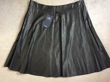 Marks and Spencer Faux Leather Formal Skirts for Women