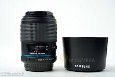 Samsung SA Schneider D-Xenon 100mm f/2.8 Macro Lens for Pentax D FA