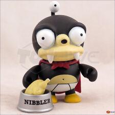 Kidrobot Futurama - series 1 Nibbler w/ Chicken 3-inch vinyl figure - displayed