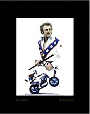 Evel Knievel Artist Proof Lithograph With COA AMERICAN ROULETTE