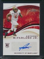 2020 Panini Immaculate Collegiate RC Auto Autograph Red Anthony McFarland Jr /49