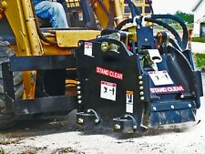 """Skid Steer Cold Planer by Bradco,Standard Flow 11-22GPM,12"""" Planing Width"""