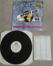 """Status Quo  3 Track """"Running All Over The World"""" Vinyl 12"""" with Insert EX/VG+"""
