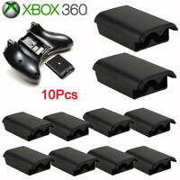 【10 Pcs】AA Battery Pack Cover Shell Case Kit for Xbox 360 Wireless Controller US