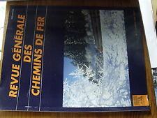 µ?. Revue Generale des Chemins de Fer RGCF 1/1998 JO et monde ferroviaire SECU..