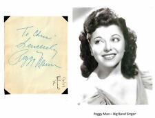 Peggy Mann Ralph Edwards Autographs Your Hit Parade My Reverie My Little Cousin