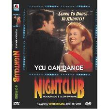 You can dance:Night Club Rock/Disco & Slow(DVD,All,New) Vicki Regan, Ron De Vito