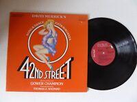 42nd Street Original Broadway Cast Vinyl LP Gatefold Sleeve RCA  CBL13891
