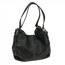 EUC The Sak Black Faux Leather Shoulder Bag SKU-E041