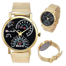 Unisex Watch Contracted Casual Watch Stainless Steel Band  Quartz Watch US