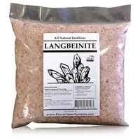 LANGBEINITE - Sulfate of Potash Magnesia (K-MAG) Organic 0-0-22Fertilizer - 5lbs