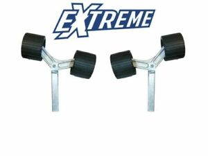 Pair of Extreme Uprights with Wing Bracket assemblies Boat Trailer
